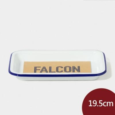 英國Falcon 獵鷹琺瑯小托盤19.5cm-藍白