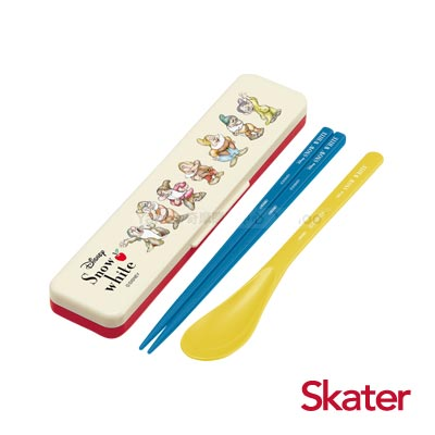 Skater湯匙筷子組(附盒) 七矮人