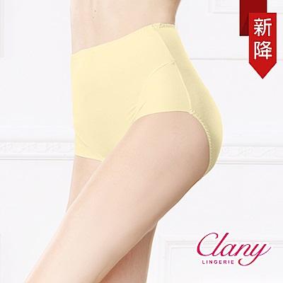 內褲 保養絲蛋白L-2XL蜜桃褲 初暮黃 可蘭霓Clany