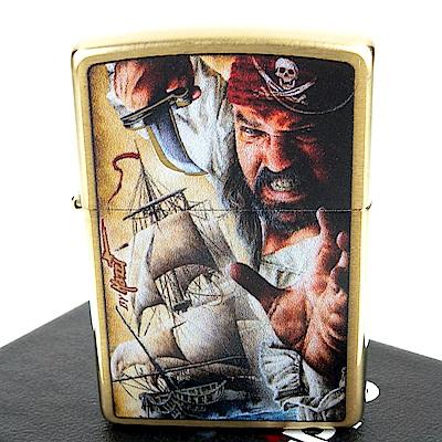 ZIPPO 美系~Mazzi Savage Pirate-野蠻海盜圖案設計打火機