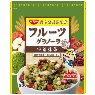 日清 宇治抹茶綜合水果穀物脆(500g)