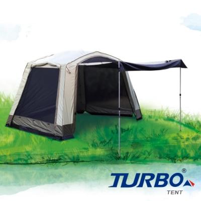 【Turbo Tent】Veranda 320客廳帳(快搭 客廳帳 淺綠色)