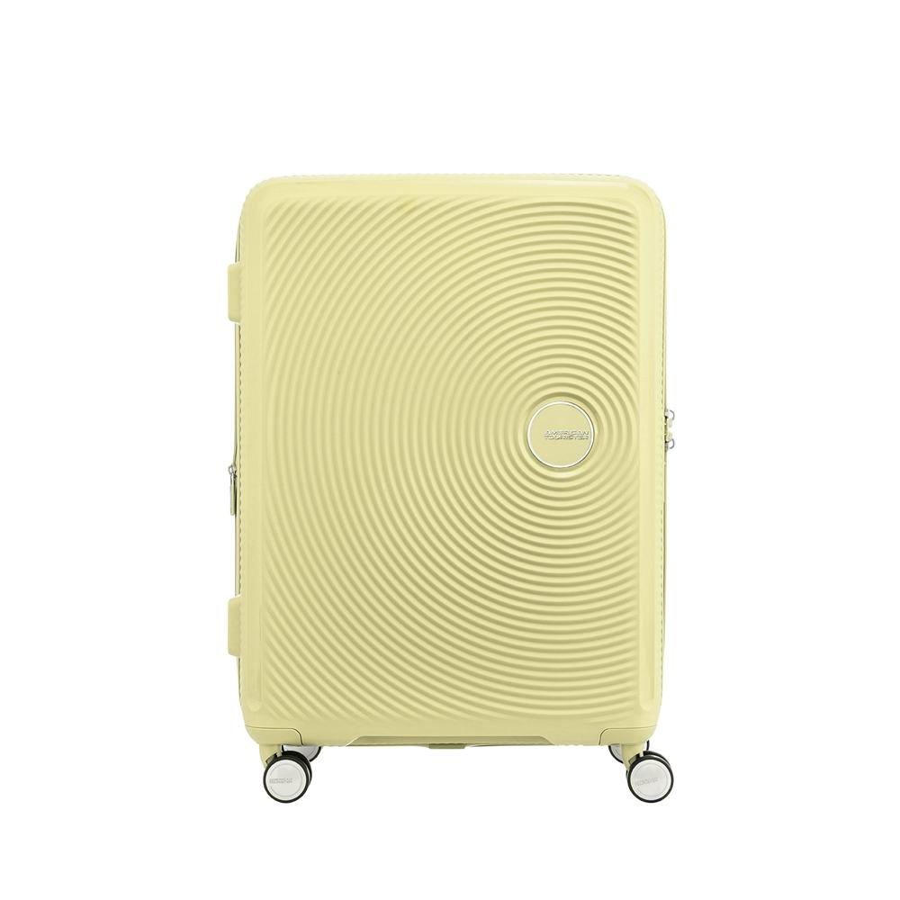 AT美國旅行者 30吋Curio立體唱盤防盜拉鍊硬殼可擴充TSA行李箱(多色可選)