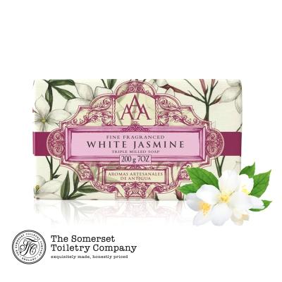 Somerset 賽玫特 英國AAA花卉護膚香皂200g-白茉莉