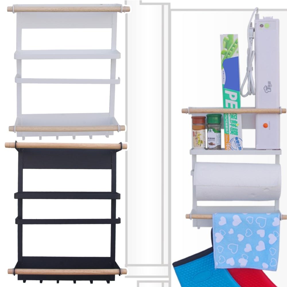 磁力 冰箱收納層架一個