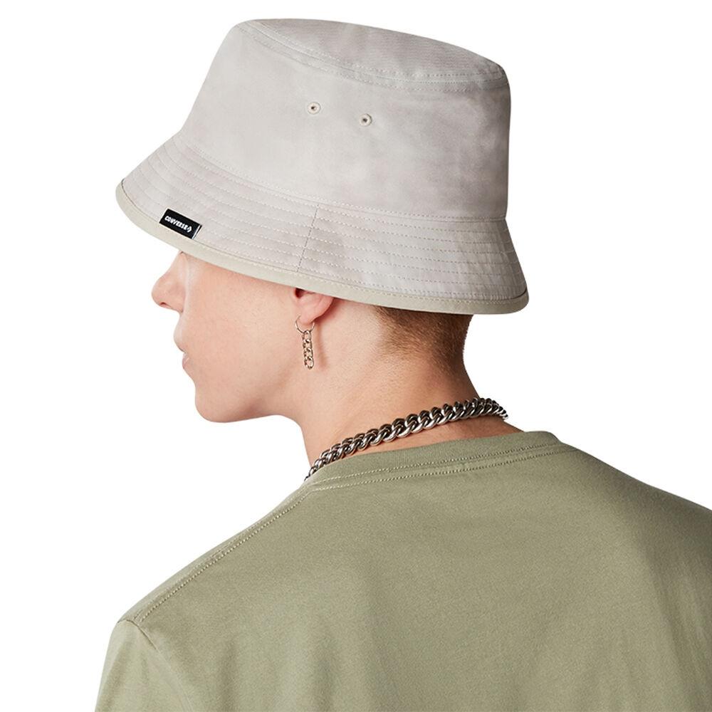 CONVERSE WASHED BUCKET HAT 男女 休閒帽 渲染 漁夫帽 米白色 10021435-A02