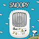 SNOOPY史努比 正版授權 USB充電 上吹風扇/掛脖風扇/頸掛風扇- 白雲飛鳥 product thumbnail 1