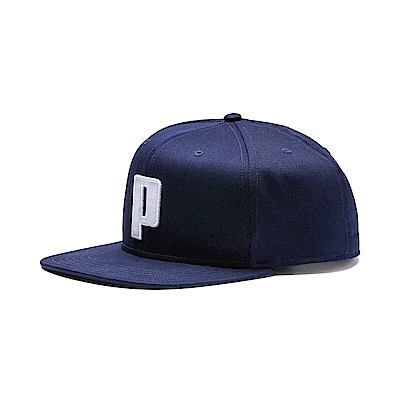 PUMA-男女流行系列蓋帽-重深藍