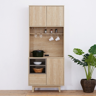 時尚屋 傑拉爾2.7尺餐櫃組 寬81.3x深40x高197.2公分