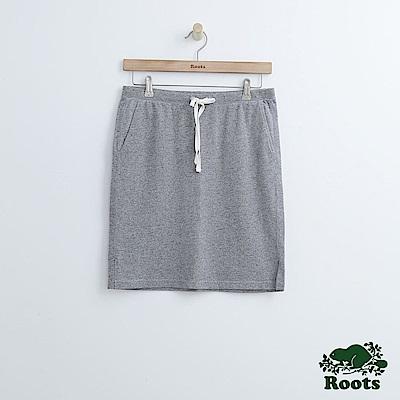 Roots -女裝- 瑪貝爾湖畔短裙 - 灰