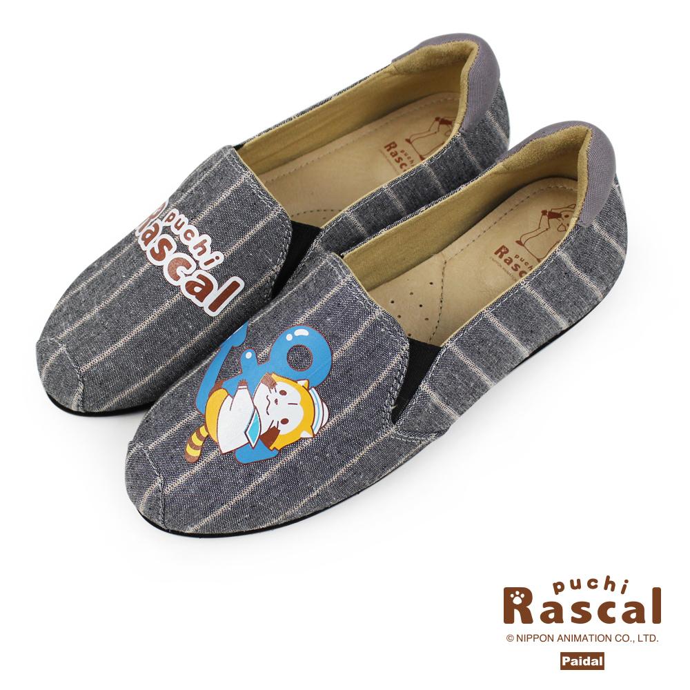 Paidal x Rascal小小浣熊船錨休閒鞋樂福鞋懶人鞋