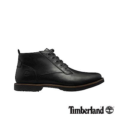Timberland 男款黑色粒面Kendrick休閒鞋