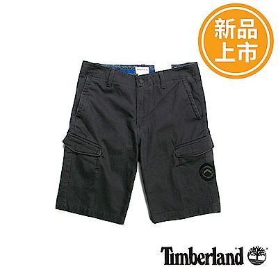 Timberland 男款黑色Webster Lake Cargo短褲