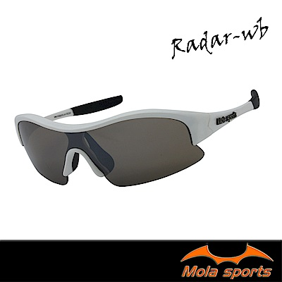 MOLA摩拉運動太陽眼鏡 radar-r UV400男女 小臉至中 自行車高爾夫跑步 黑紅
