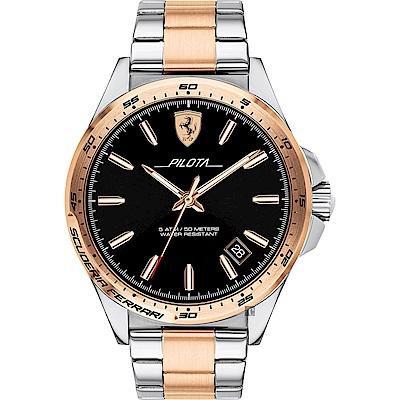 Scuderia Ferrari 法拉利 奔馳再勝手錶(FA0830528)-42mm