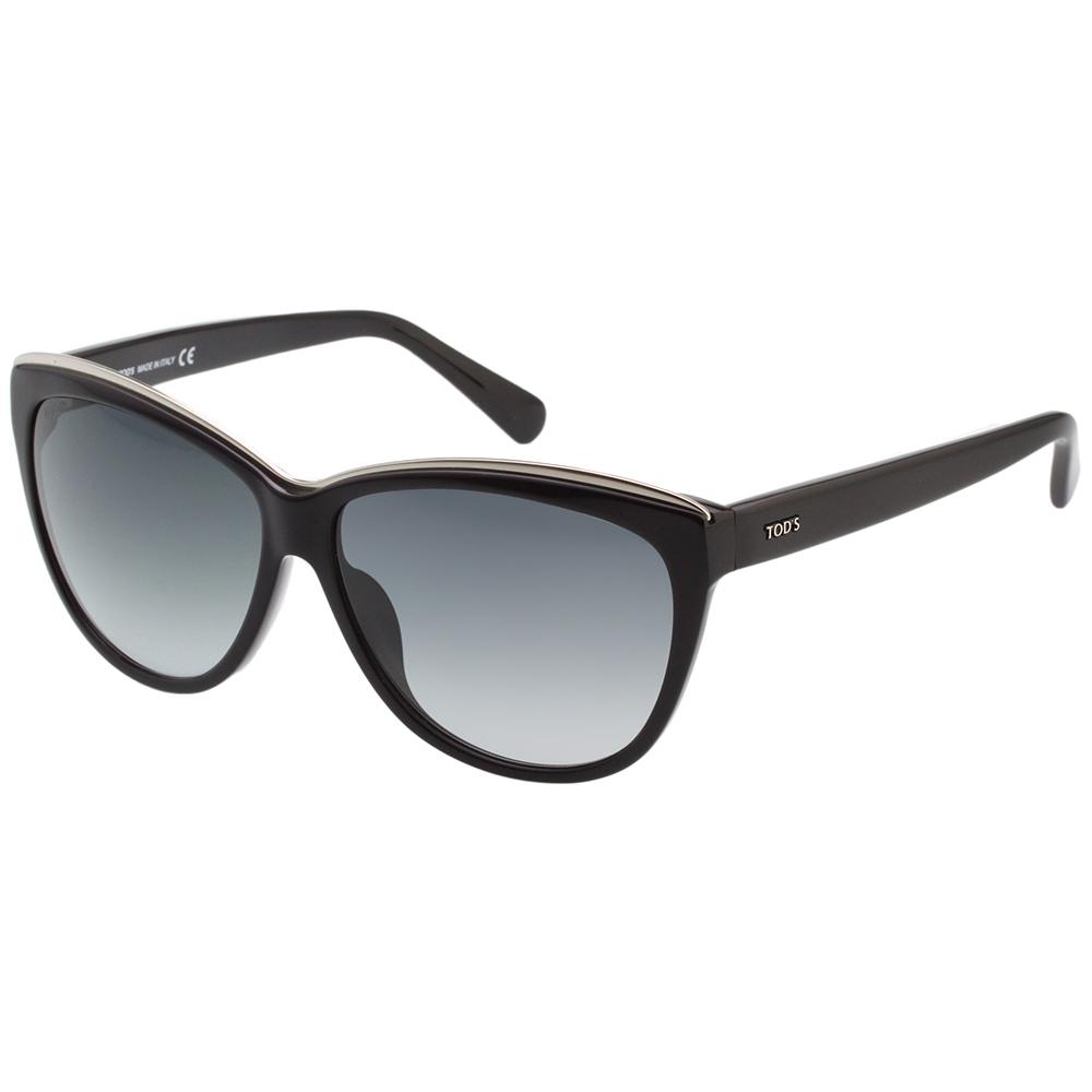 TOD'S 時尚貓眼 太陽眼鏡 (黑色)TO9094