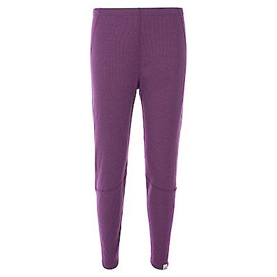 法國【EiDER】女保暖排汗機能型排汗褲紫