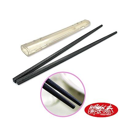 《闔樂泰》環保食安筷套組-竹編(2入組)(環保筷 / 筷盒 / 環保餐具)