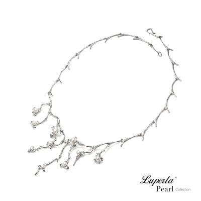 大東山珠寶 輕奢專屬系列 燦爛煙花樹 925銀 珍珠項鍊