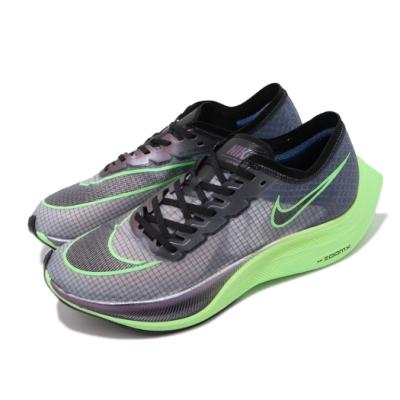 Nike 慢跑鞋 Vaporfly NEXT% 運動 男女鞋 氣墊 避震 輕量 舒適 路跑 馬拉松 藍 綠 AO4568400