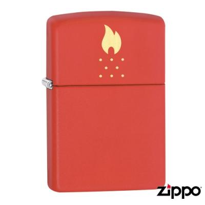 美系Zippo Chimney Holes Design 爐頂之火防風打火機49231