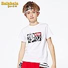 Balabala巴拉巴拉-帥氣超人英雄印花T恤-男(2色)