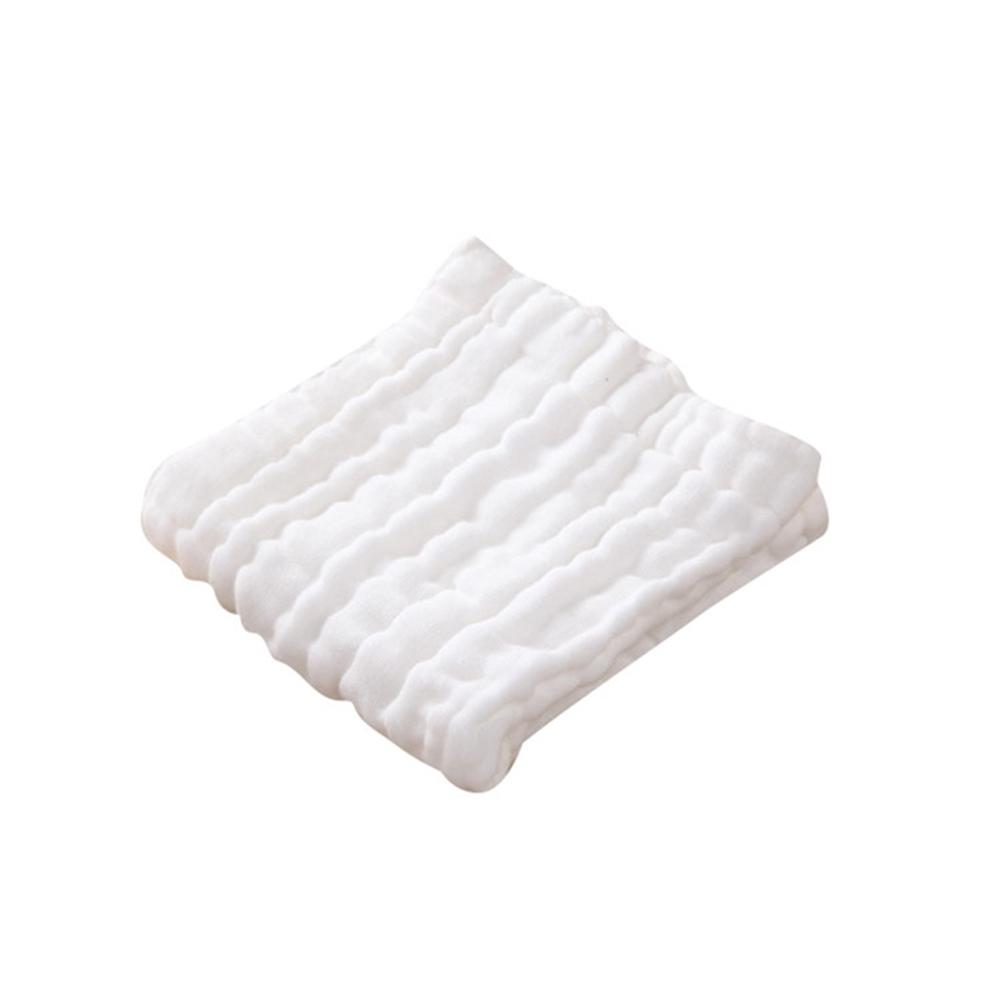Baby童衣 6層紗布巾 水洗紗布方巾 可掛式嬰兒口水紗布巾 幼童小方巾 88347