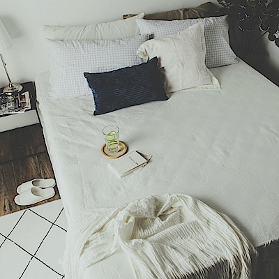 絲薇諾 MIT保潔墊 物理防水透氣保潔墊 床包式- 雙人特大6×7尺