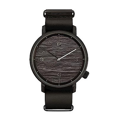 KOMONO Magnus II 馬格斯二世系列腕錶-石墨黑/45mm
