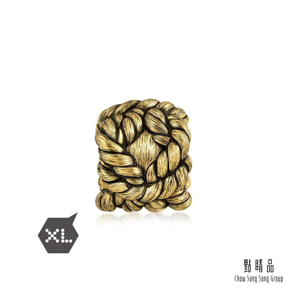 點睛品 999純金 Charme XL 大力神結 黃金串珠