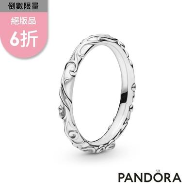 【Pandora官方直營】華麗圖騰戒指