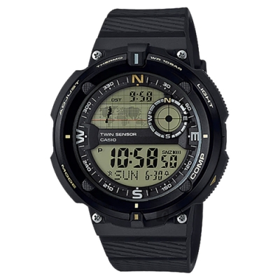 CASIO 卡西歐 SPORTS GEAR 戶外運動錶(SGW-600H-9ADR)