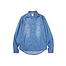 CACO-刷色牛仔襯衫(兩色)-男【SAR043】
