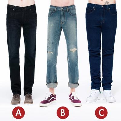 [時時樂限定]BRAPPERS 男款直筒褲(三款選)