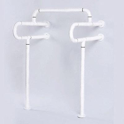 IA048 小便器安全扶手/ 防滑HU落地型扶手  ABS 牙白