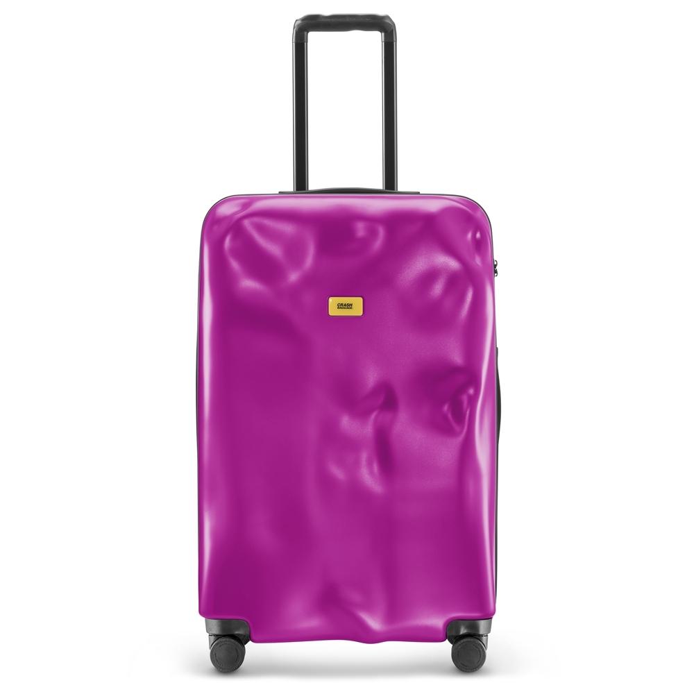 【Crash Baggage】New Icon拉鍊款29吋時尚桃紅防撞行李箱