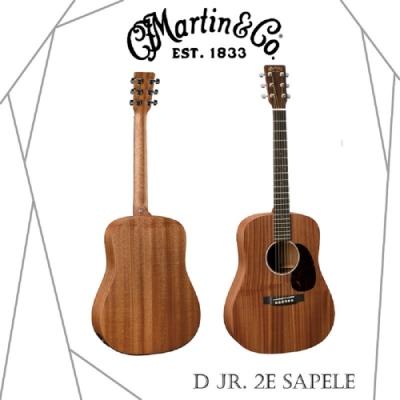Martin DJr. 2E Sapele電木吉他/贈導線/贈超值配件包