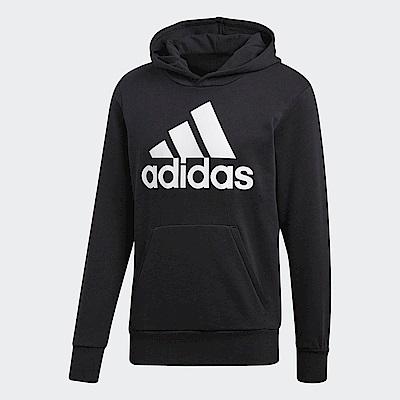 adidas ESSENTIALS 標誌連帽上衣 男 CW3861