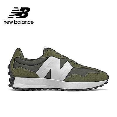 【New Balance】 復古鞋_中性_軍綠_MS327CPE-D楦