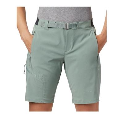 Columbia 哥倫比亞女款- 鈦 Omni-SHIELD防潑防曬50短褲-綠色 UAR14310GR