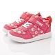 IFME健康機能鞋 護踝穩定鞋款 NI7SC1珊瑚紅(中小童段) product thumbnail 1