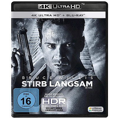 終極警探 30週年 4K UHD+BD 雙碟限定版