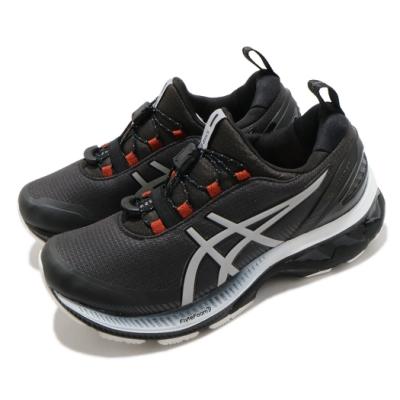 Asics 慢跑鞋 Gel Kayano 27 AWL 女鞋 亞瑟士 高支撐 防潑水 黑 銀 1012A762020