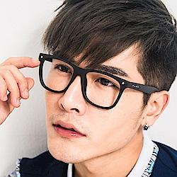 BuyGlasses 文青搭配圓點粗框平光眼鏡