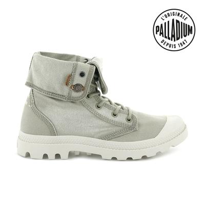 Palladium  PALLADENIM BAGGY單寧帆布靴-女-海藻綠