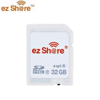 ezShare wi-fi無線SDHC記憶卡32G SD卡(Class10,分享派照片IG FB LINE)適Canon Nikon Sony Pentax Fujifilm Olympus