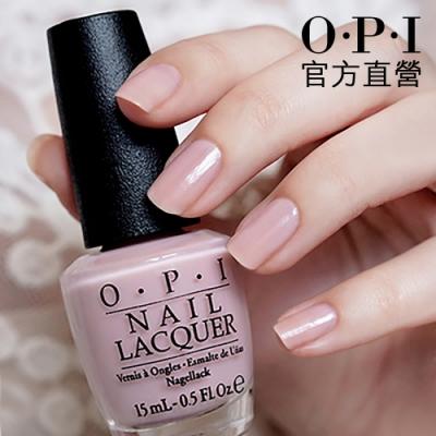 OPI 官方直營.輕甜女伶指甲油-NLT65.輕柔光彩系列