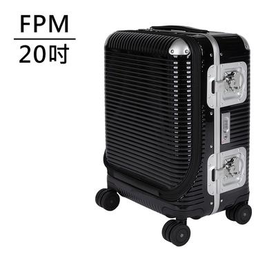 FPM MILANO BANK LIGHT Licorice Black系列 20吋商務登機箱 爵士黑 (平輸品)