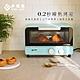 EL伊德爾11L 0.2秒瞬熱烤箱-藍色/米白/珊瑚紅(WK-560) product thumbnail 2