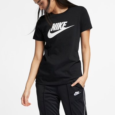 Nike AS W NSW TEE ESSNTL ICON FUTUR 女短袖上衣 黑-BV6170010